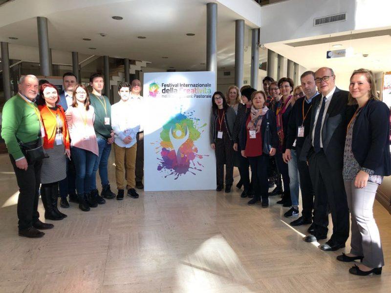 Reprezentanți ai Liceului Greco – Catolic Iuliu Maniu la Festivalul Internațional al Creativității, Roma