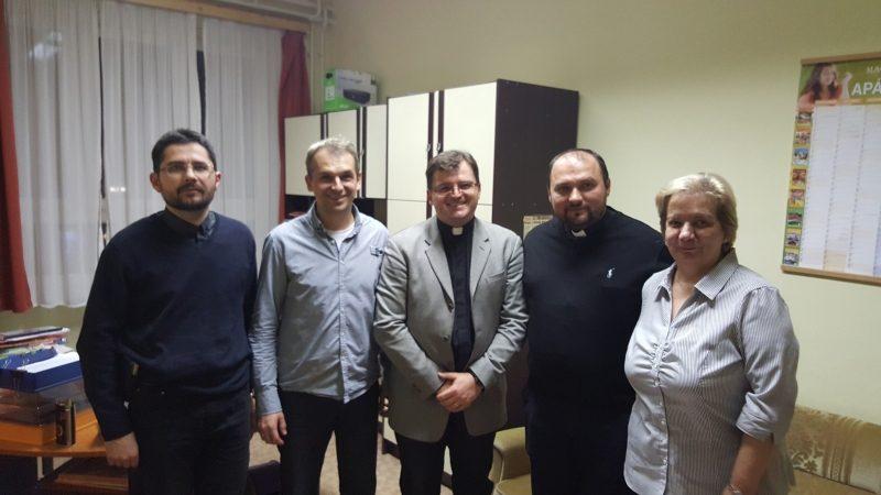 "Vizită a unei echipe din Liceul Greco-Catolic ""Iuliu Maniu"" la Debrecen"