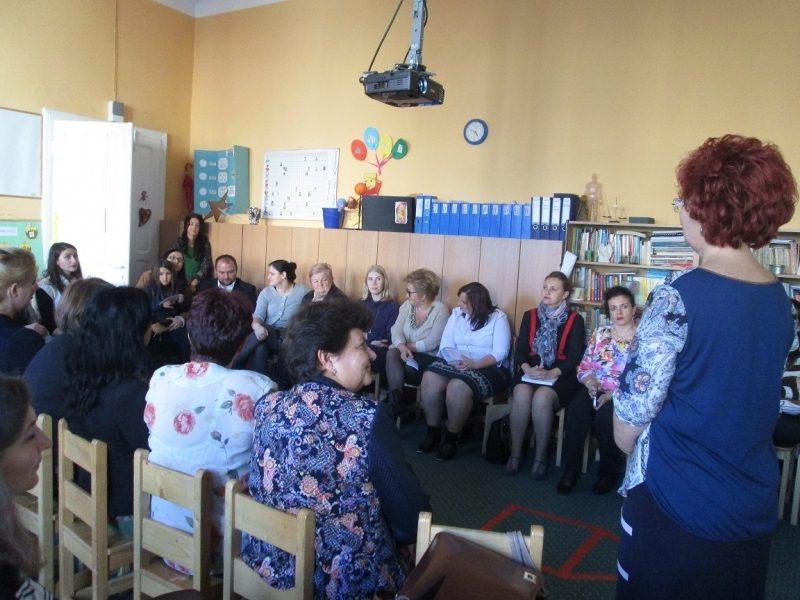 Activitatea de începere a proiectului educativ Darul Iubirii