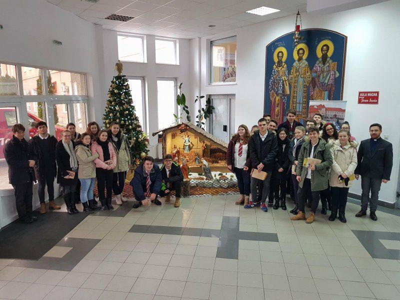 Vizita elevilor Liceului Greco-Catolic Iuliu Maniu la Seminarul Teologic Cei Trei Ierarhi