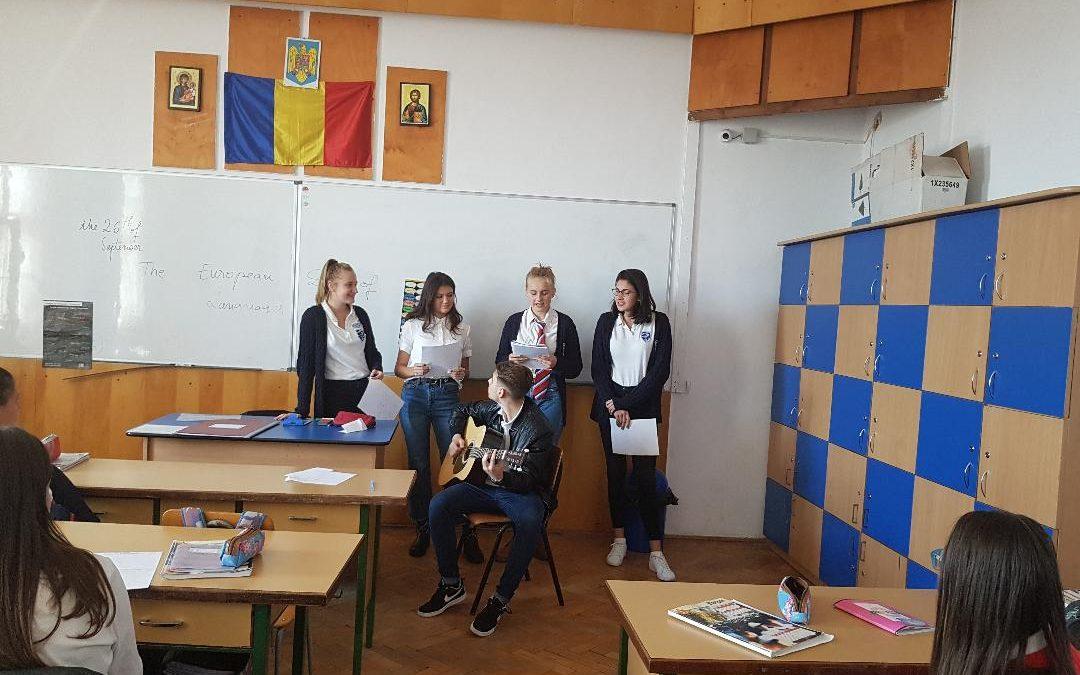 Zilua Europeană a Limbilor sărbătorită de liceeni