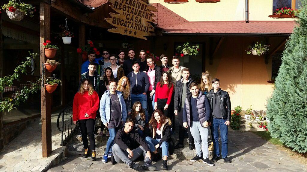 Excursie la Bălnaca, clasa a 12-a B