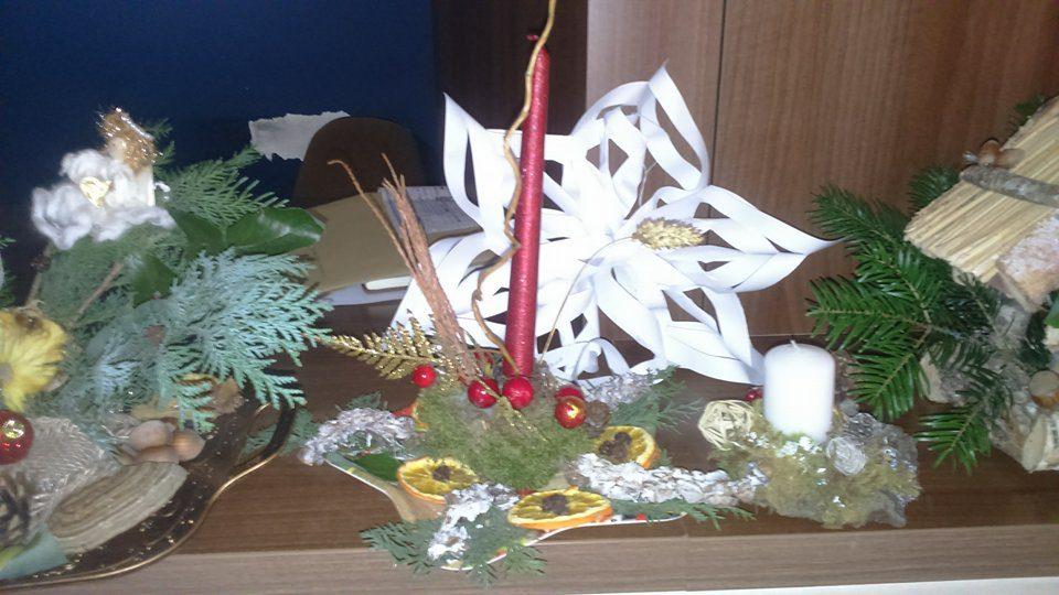 Confecționare ornamente de Crăciun