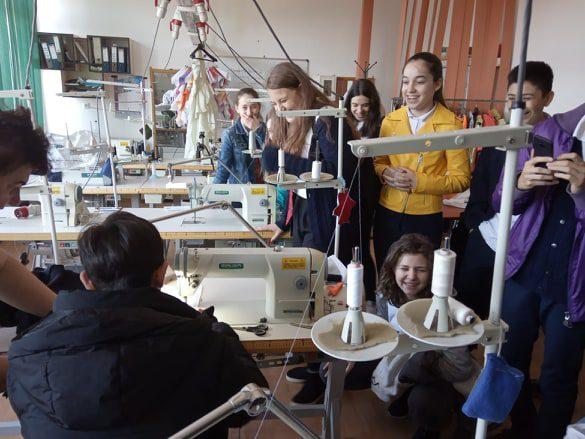 În vizită la Colegiul Tehnic Traian Vuia