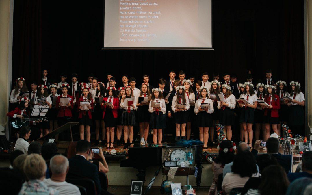Festivitatea de final de gimnaziu a claselor a VIII-a