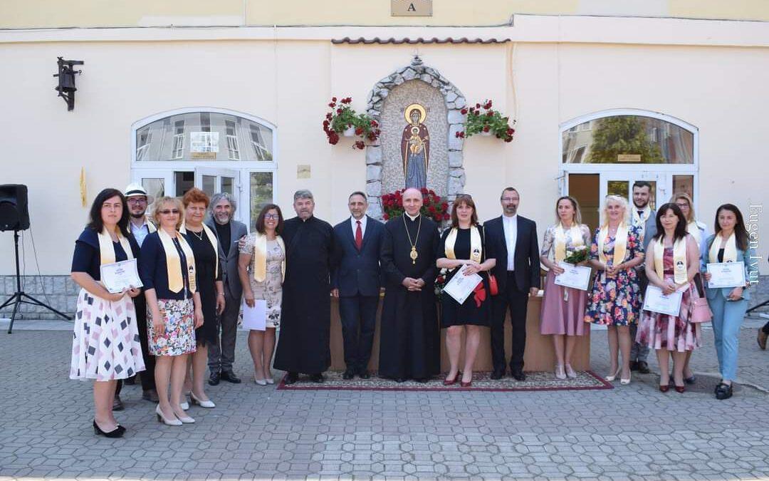 """Festivitatea de absolvire a Masterului """"Fundamente creștine ale identității europene"""""""